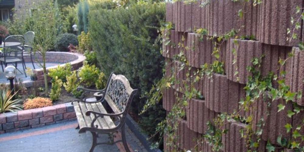 Stapelbare plantenbakken
